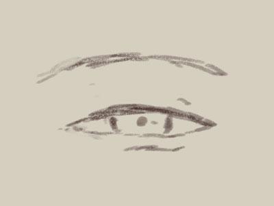 表情の描き方03目の表情